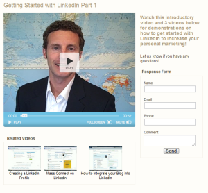 Video - Getting started with linkedin part 1