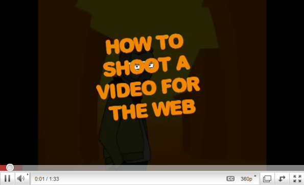 How to Shoot a Video for the Web